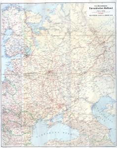 Gea Übersichtskarte Europäisches Rußland 3M - Reduced