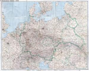 Gea Übersichtskarte Mitteleuropa 1.5M - Reduced