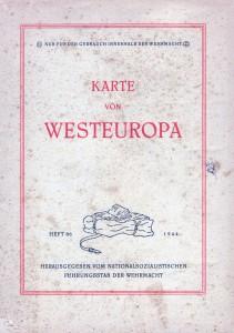 Karte von Westeuropa - 3500K - Cover